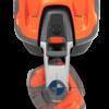 Husqvarna 535 AWD pealtvaade liikumisnurkadega