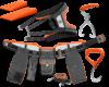 Husqvarna FLEXI tööriistavöö + tööriistad
