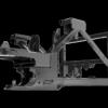 Husqvarna P 52xD tugev raam