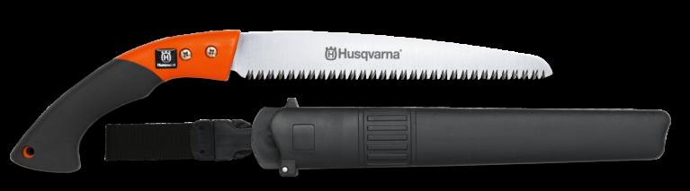 Husqvarna oksasaag sirge tera 240mm, koos vutlariga